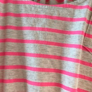 Express Dresses - Express Hot Pink Striped Mini dress.